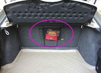 Car Styling nowy samochód tylny fotel w bagażniku siatkowa torba do przechowywania dla Mini usb pc miniony miniony kamera cooper projektor drone