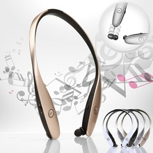 Hot Stereo HBS-900 Bluetooth4.0 Wireless headphone,Luxury HBS900 Sports in-Ear buds bluetooth neckband headsets for Smart Phones
