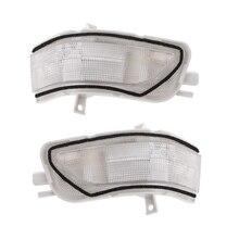 Слева кабины право пилот Зеркало заднего вида светодиодный указатель поворота для Honda CRV 2007-2011 Crosstour 2011-2016 автомобилей янтарь лампа