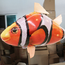 Creative Remote Control Balloons Shark Inflatable Balloon Wedding Birthday Party Air Flying Kids Favors Classic Toys As Gift