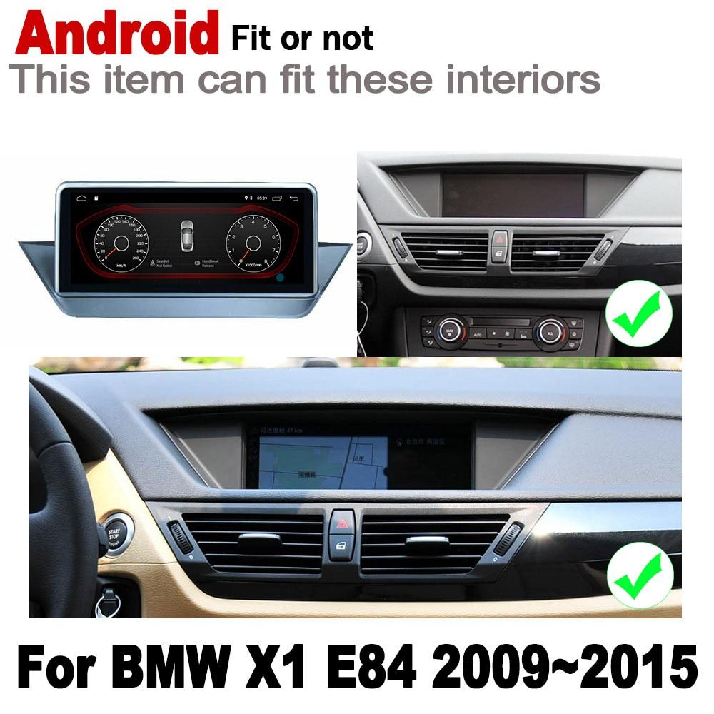 מערכת ניווט GPS אנדרואיד 2 DIN לרכב נגן GPS עבור BMW X1 E84 2009 ~ 2015 רדיו סטריאו מסך HD נגן מולטימדיה מפת ניווט IPS מערכת WiFi (2)