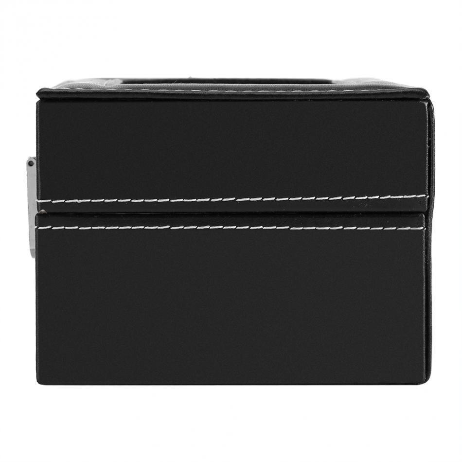 2 Slots Watch Storage Display Case Box Wristwatch Luxury Jewelry