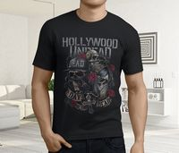 New Popular Hollywood Undead Hu American Rap Rock Band Men S Black T Shirt S To