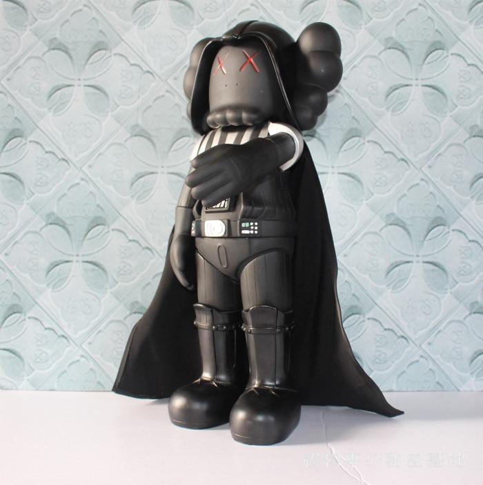 20 pouces kaws original faux star wars chevalier noir foncé Darth vader poupées sans origina boîte jouet