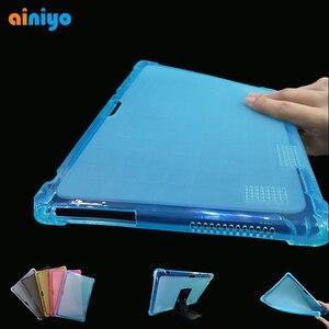 """Silicon Case for Teclast M20 ALLDOCUBE iPlay10 pro M5X Pro M5X M5XS M5S Onda x20 Ezpad M5 10.1"""" Tablet PC Protective Cover(China)"""