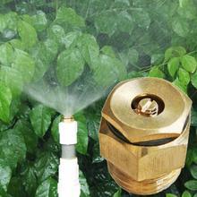 1Pcs 360 Degrss Connector Thread Water Sprinkler Irrigation Spray Nozzle Watering Head Garden Brass Supplies