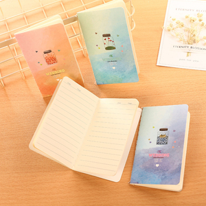 Image 3 - 40pcs/lot  Beautiful Wind 80k Car Line Diary Notebook Students Korean Stationery Notepad Small Notebook Stationery Wholesale