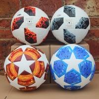 2018 World Soccer Ball 2019 finals Final Balls Madrid 19 Match football ball PU high grade seamless paste skin