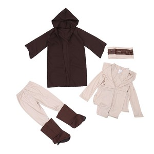 Image 3 - Boys Deluxe Jedi Knight Movie Character Cosplay Party Clothing Kids Fancy Halloween Purim Carnival Costumes