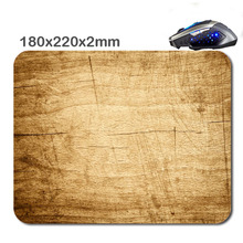 Wood art DIY Customized Rubber 3D Printer 220*180*2mm Used For Home And Office Gaming Laptop Durable Nice Mouse Mat