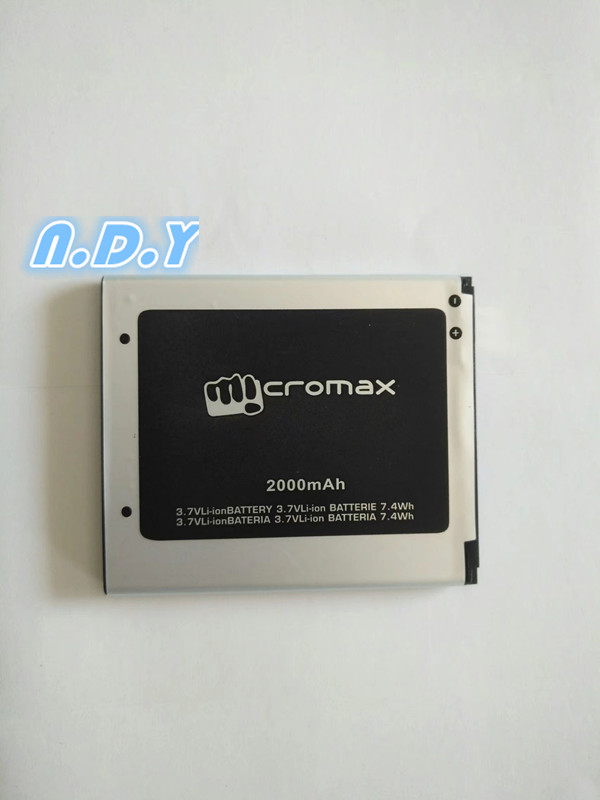 New High Quality 2000mAh Li-ion Battery for Micromax A114 A92 A106 A115 A116 A117 A210 Q340 Q338 S9101 S9111 Mobile phone
