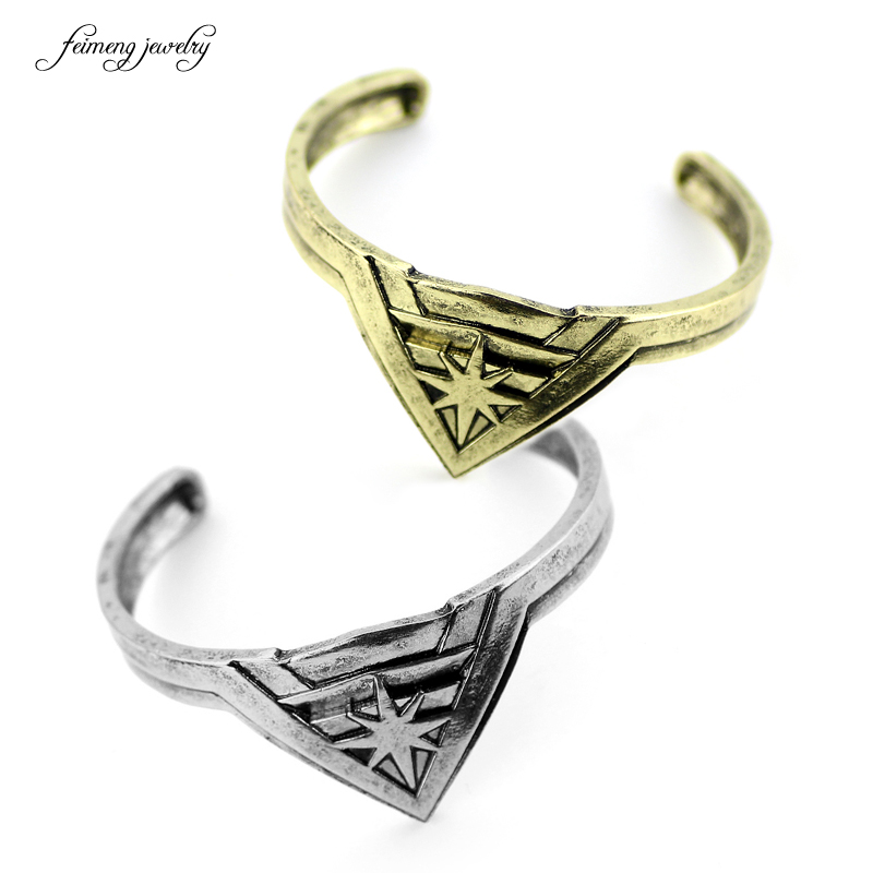 feimeng jewelry 2017 Movie jewelry wonder woman bracelets bracelet male womens opening bronze jewelry Drop Shipping