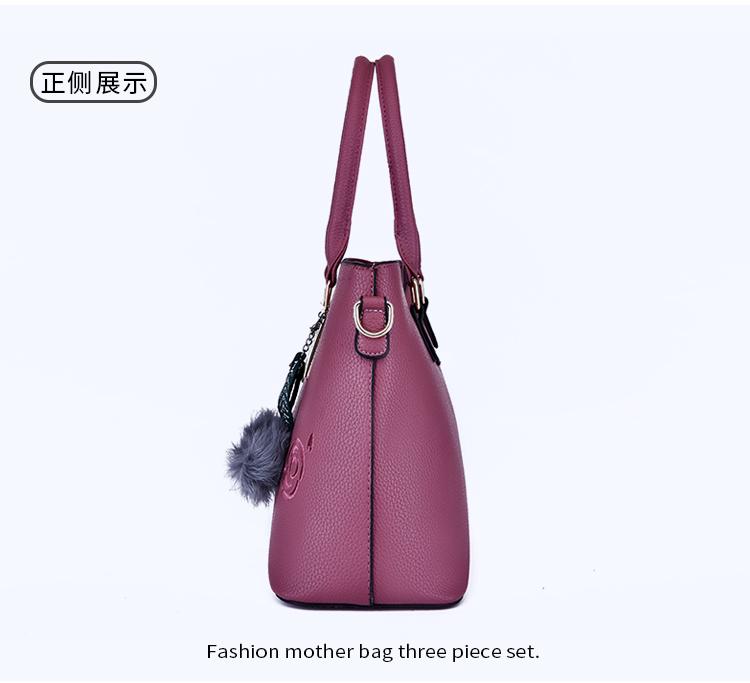 HTB1w4M4XIrrK1RjSspaq6AREXXaX - ALLKACI 3pcs Leather Bags Handbags Women