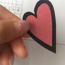 Factory Price Custom Double Density Laser Cutting Woven Patch Fancy Label