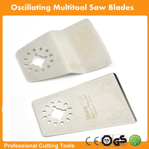 FREE SHIPPING: 2sets/lot  Stainless Steel 304 Flat & Offset Scraper For Oscillating Multi Tools For Dermel,AEG,Fein Machines