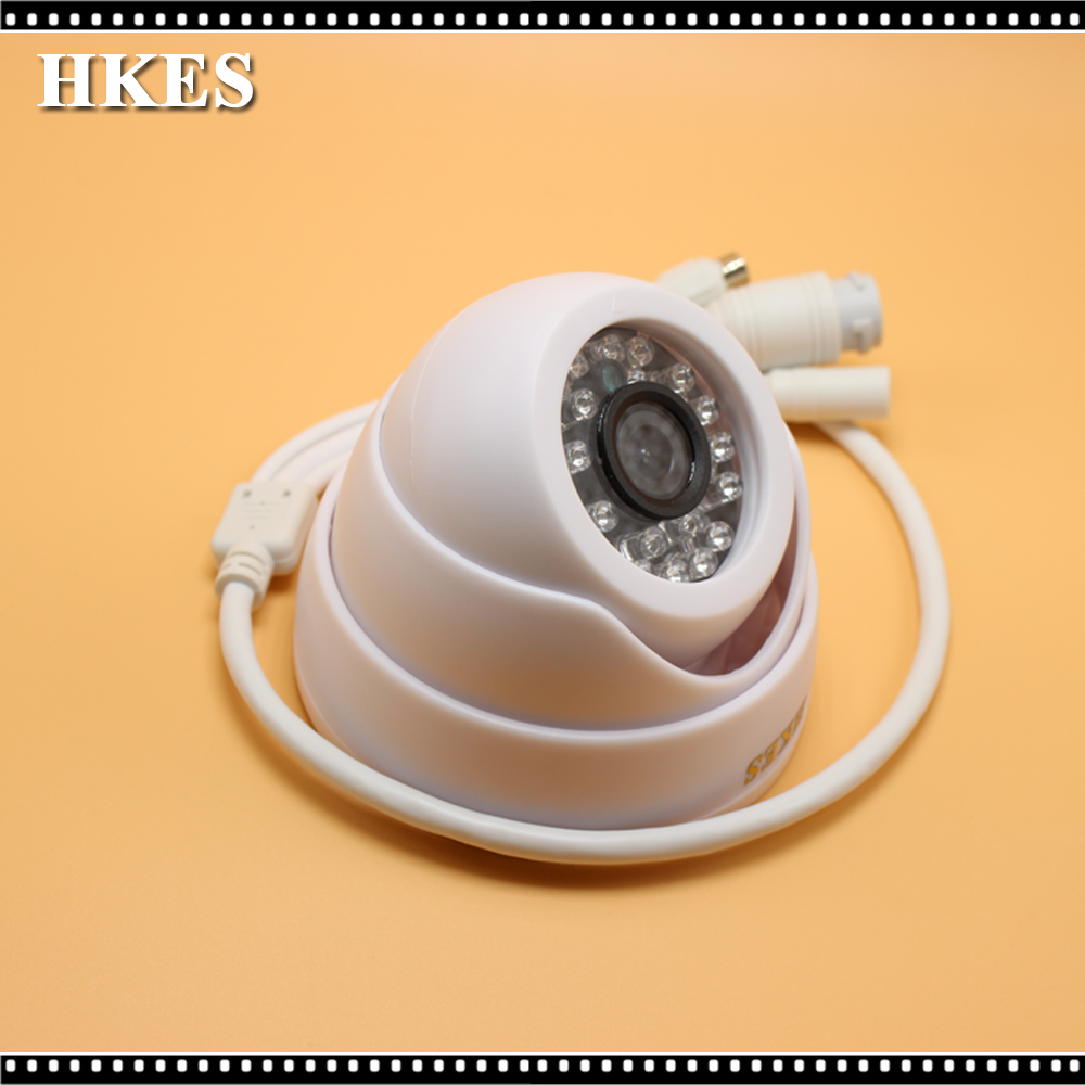 HKES 8pcs/lot HD 1280*720P 1MP ONVIF IR Dome IP Camera Indoor P2P IR-Cut Filter Network Night Vision CCTV Security Mini Cam сварочный аппарат зубр мастер зас м3 140