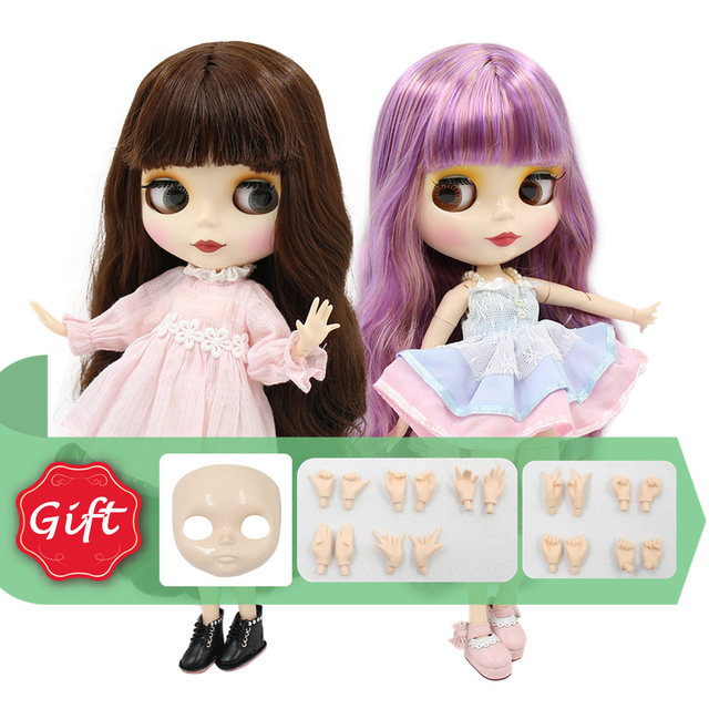 TBL Neo Blythe Doll Colorful Hair Regular & Jointed Body