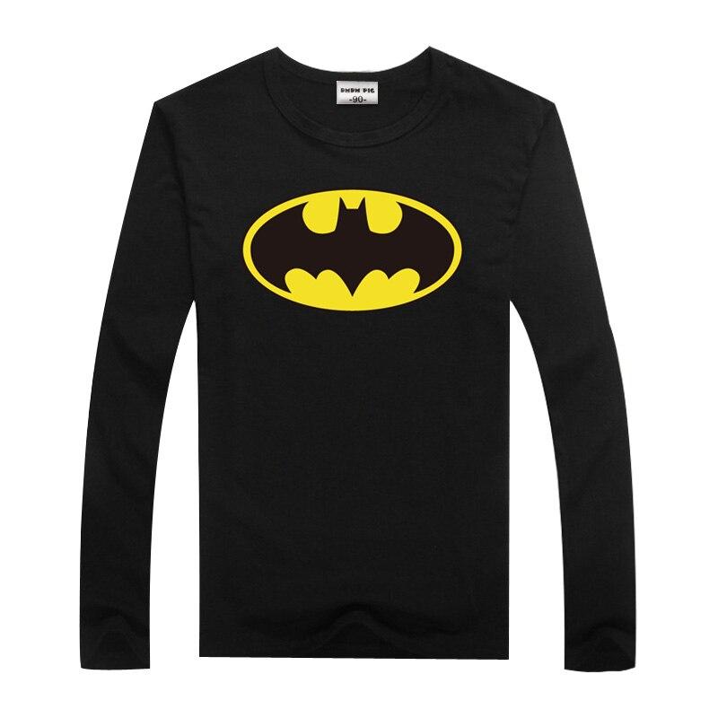 DMDM PIG Toddler Boys Tshirts Girl Tshirt Children Tops Long Sleeve T Shirt For Boys Kids Batman Superman Clothes 2 3 5 8 Years 10