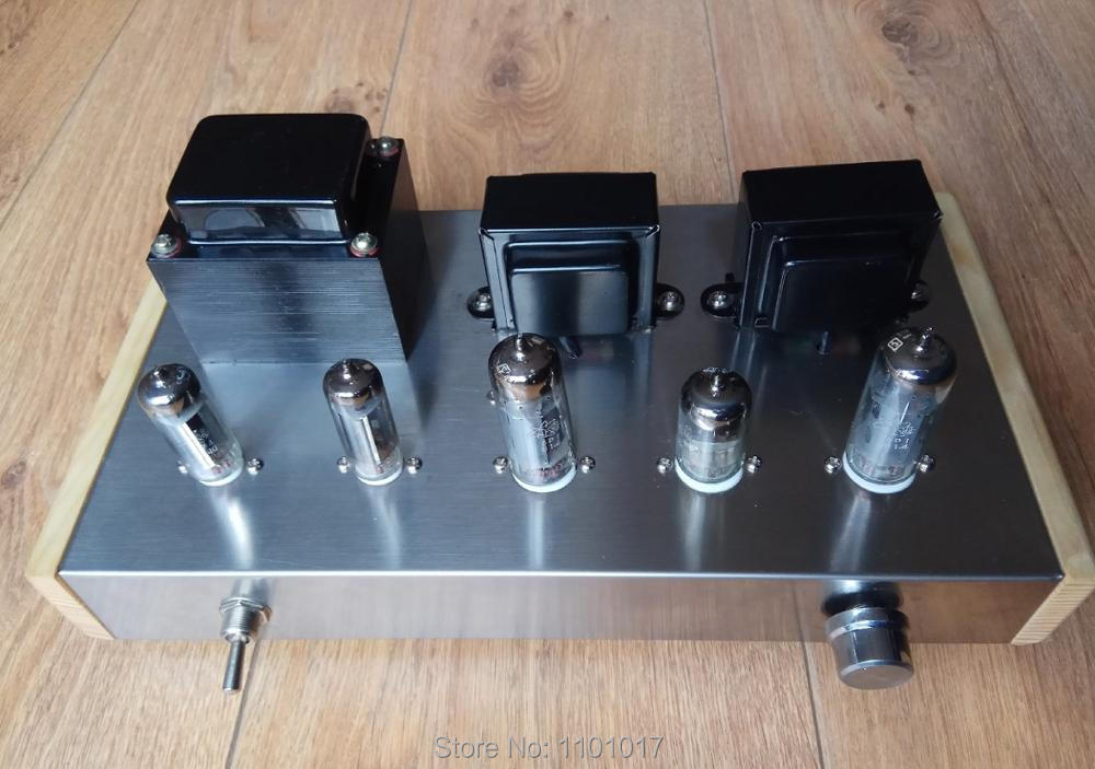 LF 6N2 6P1 Tube Amplifier Double 6Z4 rectifier HIFI EXQUIS Handmade Finished lamp amp (LF Dragon & Phenix ) цена
