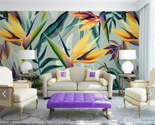 ФОТО 3d room wallpaper custom mural photo gorgeous paradise bird painting picture 3d wall non-woven murals wallpaper for walls 3d