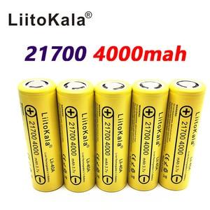 Image 5 - LiitoKala Lii 40A 21700 4000mah Li Ni סוללה 3.7V 40A 3.7V 30A כוח 5C קצב פריקה