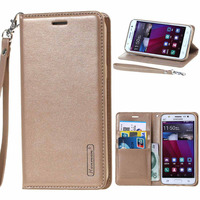 Hanman Sonata Diary Flip Book Card Holder Stand Leather Wallet Cover Case For Samsung Galaxy J3
