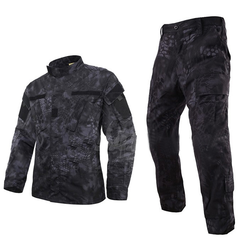 High Quality! Mandrake Army Military Tactical Cargo SHIRT+PANTS Camouflage Combat Uniform Us Army Airsoft Camo BDU Kryptek Camo