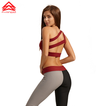 Syprem 2017 New Women Fitness Bra Sports Yoga Running Sexy  High Quality Lady Sportswear Top For Female,1FT0017