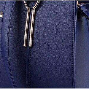 Image 5 - YINGPEI נשים תיקי תיקי מעצב שליח מזדמן Tote Femme אופנה יוקרה נשים שקיות כיס באיכות גבוהה למעלה ידית