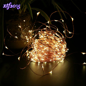 xtf2015 30M 300 Leds LED Starry Waterproof Lights with Remote Control Copper Wire Light for Bedroom Patio Wedding Parties DY-20