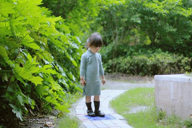 Baby Girls брендіне арналған Cheongsam жемпірі - Балалар киімі - фото 6