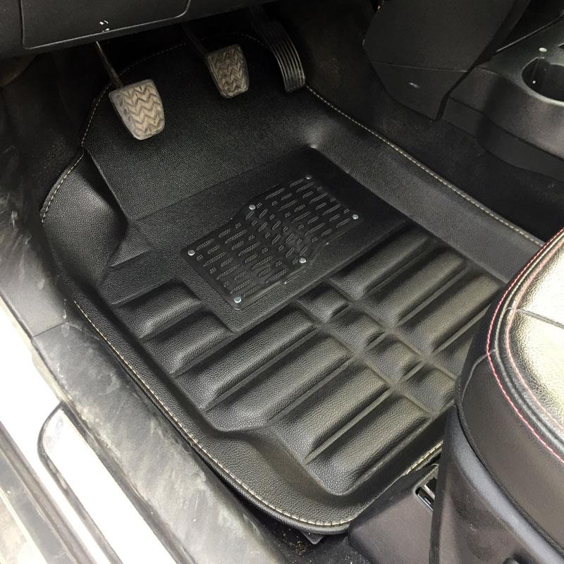 Tapis de sol de voiture tapis tapis tapis de sol accessoires pour audi a3 8l 8 p berline sportback a4 b5 b6 b7 b8 a5 b8 a6 c5 c6 c7 - 5