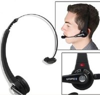 Trucker Wireless Headphones With Boom Mic Bluetooth Headsets With Multi Point And Noise Cancellation Technology For