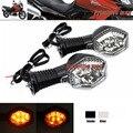 Para SUZUKI DL 650 SV650 DL650 DL1000 V-Strom/1000 Motocicleta LEVOU Transformar sinais Claros