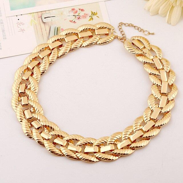 ожерелье lzhlq в стиле стимпанк женские массивные ожерелья и фотография