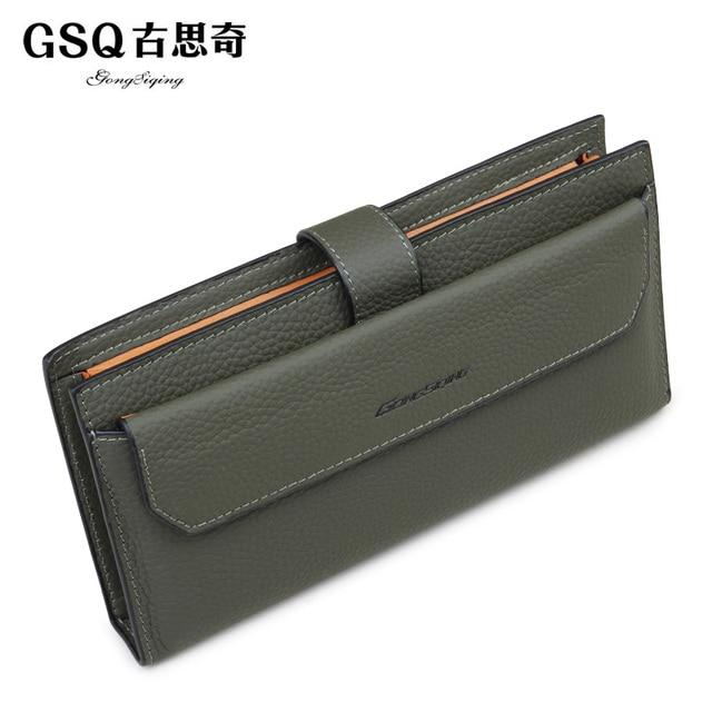 Gsq autumn male clutch business casual day clutch genuine leather man bag