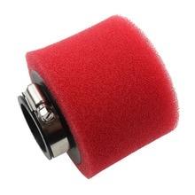 GOOFIT 38mm Foam Air Filter for 4-stroke 50cc 70cc 90cc 110cc 125cc ATV and Dirt Bike Red P091-046