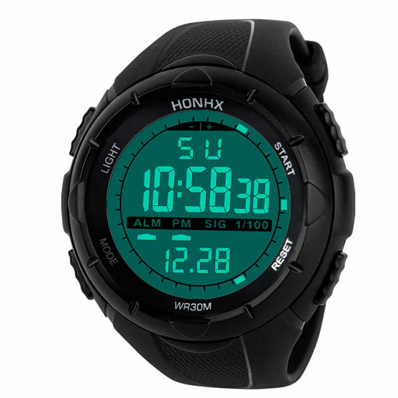 GEMIXI quente dos homens Relógios de Luxo Homens Analógico Digital Militar Do Exército Esporte Relógio de Pulso LED para ropshipping