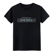 Men s Diesel fanatic t shirt Custom Short Sleeve O Neck Normal Sunlight Building Summer Style