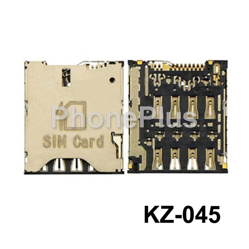 Sim Card Reader Module Slot Tray Holder Socket For HTC ONE S Z520e for Alcatel One touch idol X OT-6040 6040 6040D OT-6034
