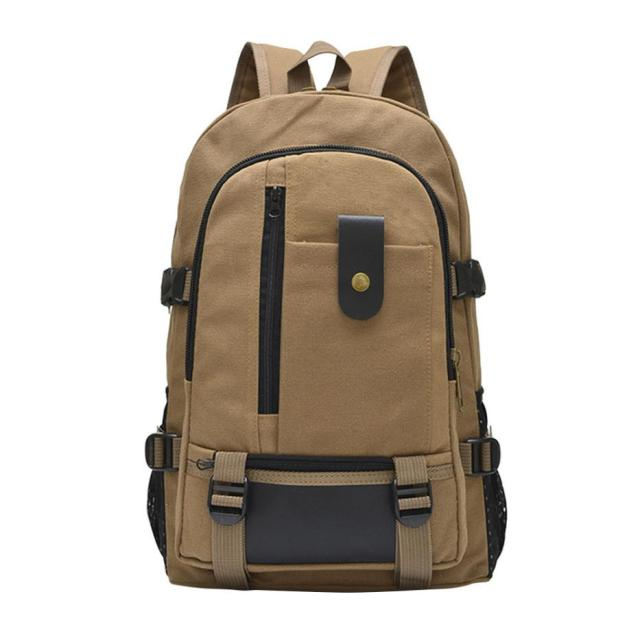 Large Capacity Backpack Waterproof Backpack Soft Backpacks Leisure Travel Canvas Backpack Student Satche Daypack Drop Ship#20 Men's Backpacks