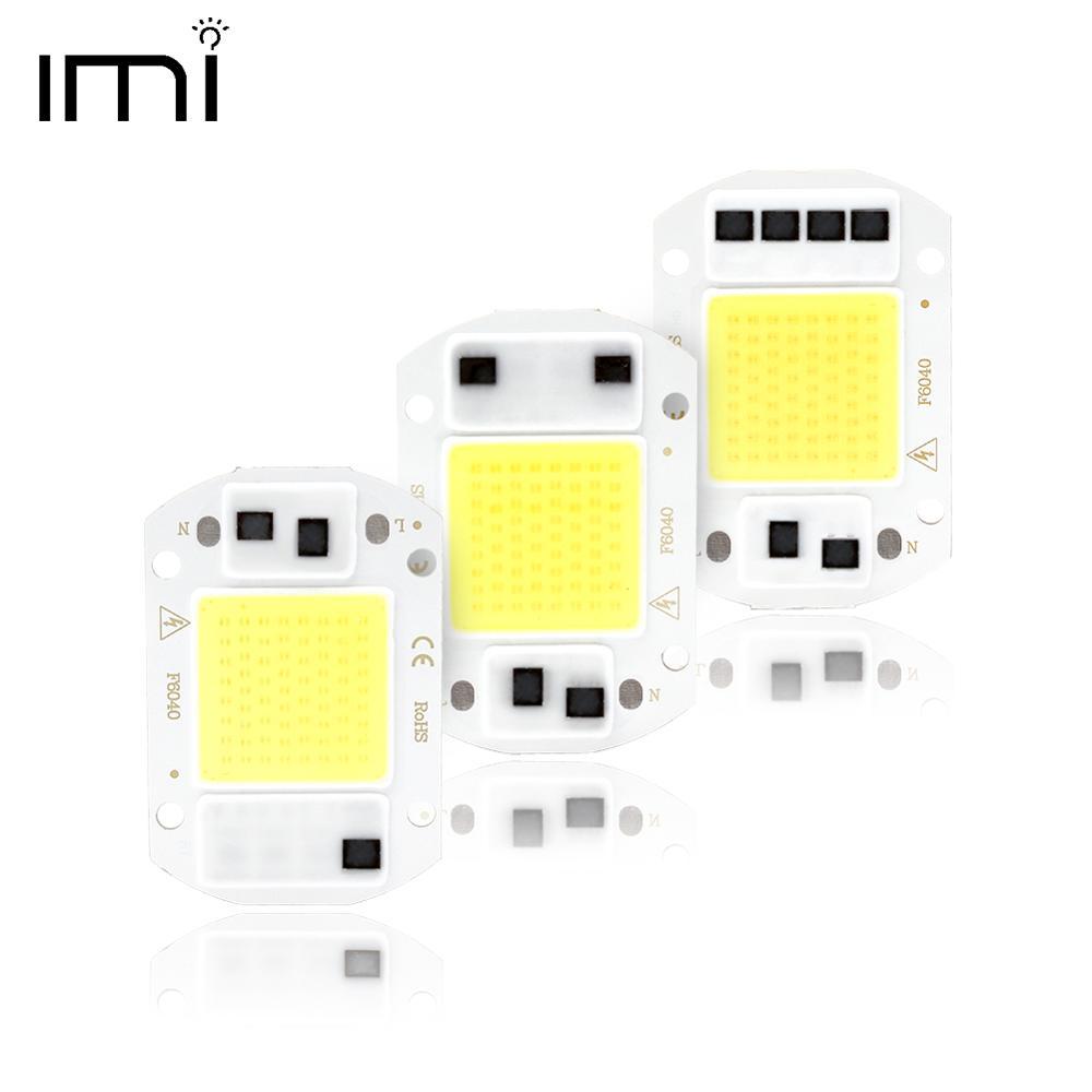 LED COB Chip Lamp Smart IC 3W 5W 7W 10W 20W 50W 70W 100W 150W Integrated Floodlight No Need Drive DIY Light Bead Spotlight