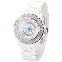 Ceramic Men S Watch Women S Watch Japan Quartz Hour Fine Fashion Clock Bracelet Luxury Rhinestones