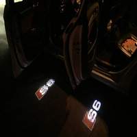 2X LED Welcome Light For Audi A6 C5 C7 C8 80 Car Door Ghost Shadow Light