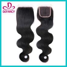 6A Brazilian Body Wave Free Part Lace Closure Brazilian Virgin Human Hair Free Top Closure 1 Piece Body Wave Full Lace Closure