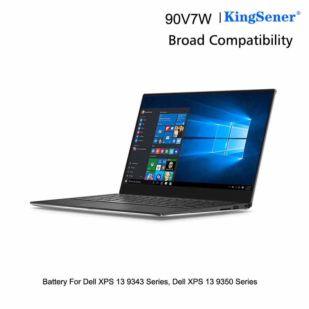 KingSener 90V7W JHXPY JD25G 090V7W ноутбук Батарея для Dell XPS 13 9343 XPS13 9350 13D-9343 0N7T6 5K9CP RWT1R 0 дзпв 7,6 V 56WH