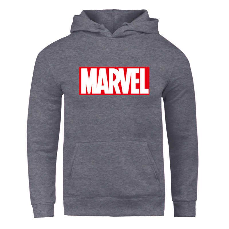 Hoodie พิมพ์ 2019 ใหม่เสื้อแขนยาวผู้ชาย/ผู้หญิงเสื้อ Unisex Hoodie Marvel เสื้อกันหนาวผู้ชาย Casual ยี่ห้อเสื้อผ้า Hoodie