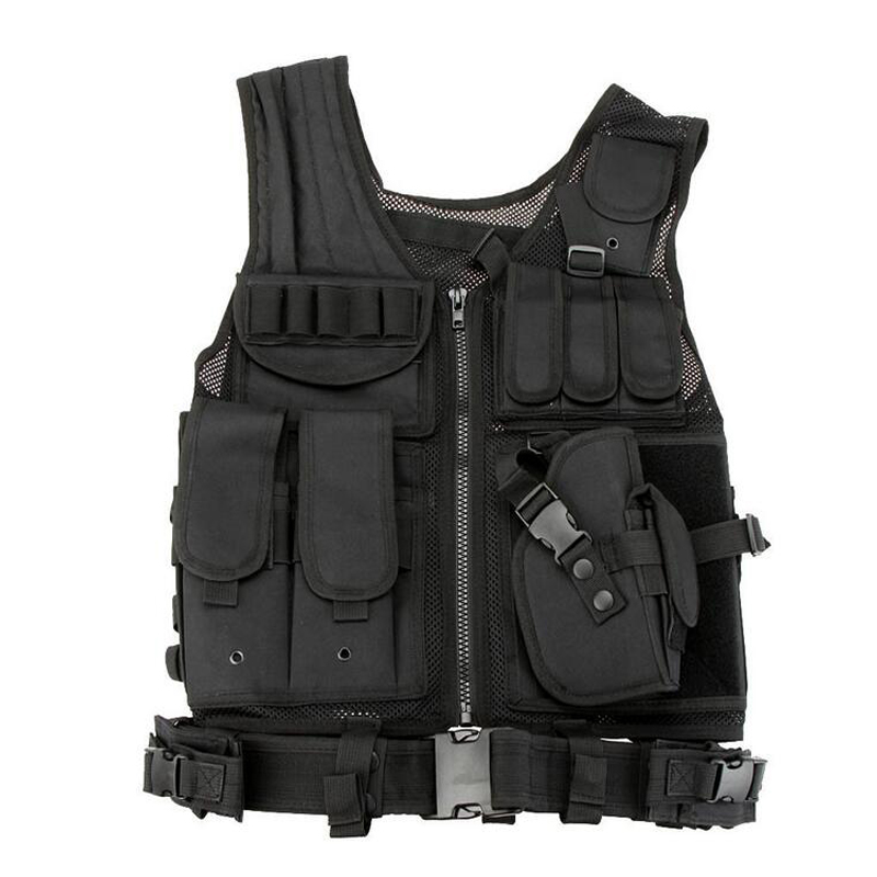Good Quality Military Combat Vest Mens Tactical Paintball Airsoft Sport Gear War Game Vest Army Outdoor Shooting Hunting Vests
