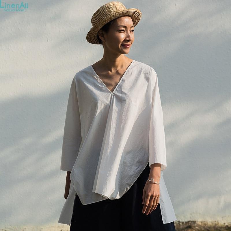 Buy 100 cotton clothing women 39 s white for 100 cotton dress shirt