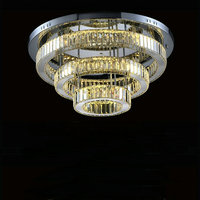 High Quality LED Ceiling Chandelier Lustres De Led Lighting Fixture For Living Room Bed Room AC